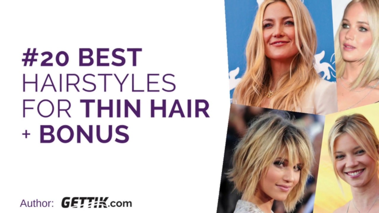 Top 12 Hairstyles For Thin Hair 12   Discover The Best Haircuts ...