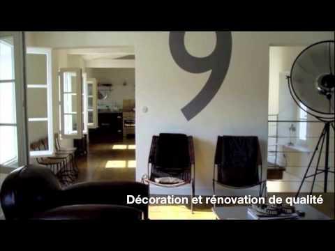 maison vendre r novation de charme au coeur du bois plage en r youtube. Black Bedroom Furniture Sets. Home Design Ideas