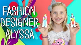 My Life as a Fashion Designer DIY Paper Doll Design Kit