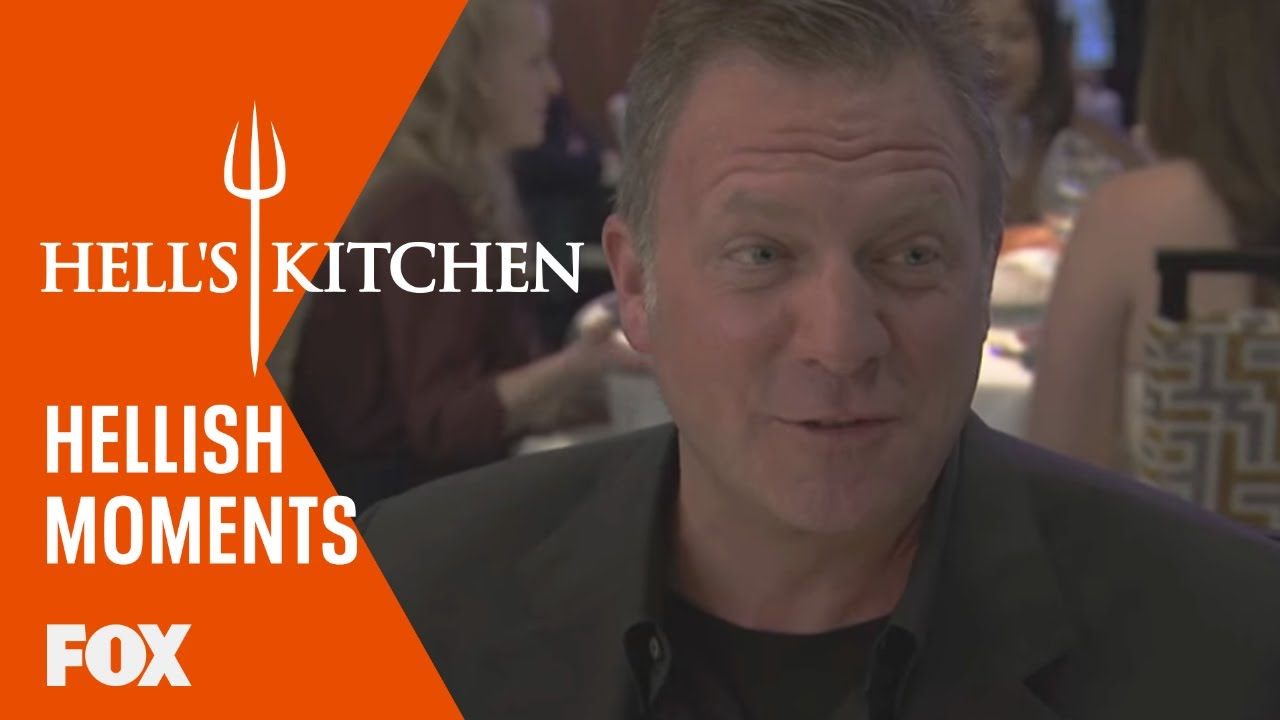 A hellish extra jonathan loughran guest dines season 15 for Hell s kitchen season 15 episode 1