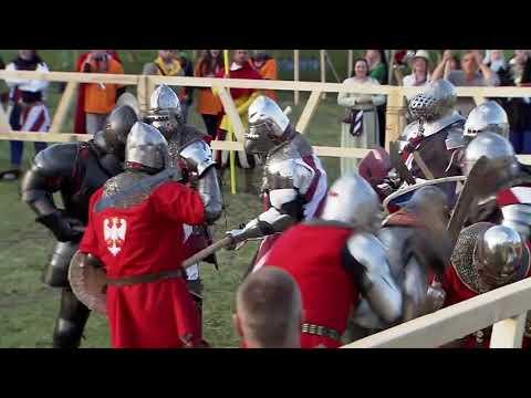 USA vs Poland - 16 vs 16 Medieval Combat HEMA Match (IMCF) Commentary
