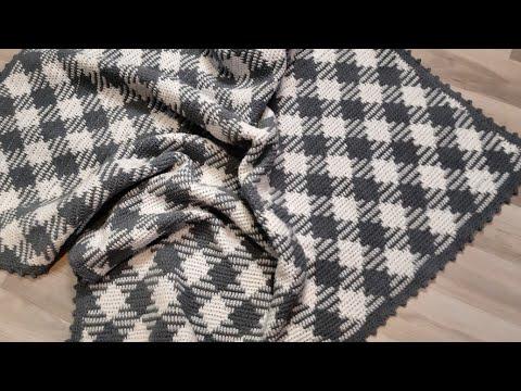 el örgüsü motifli tığ işi battaniye modelleri // harika modeller ister çeyize ister evine yap