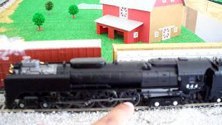 Review of the Athearn Genesis Northern FEF 4-8-4 # 844 Steam Engine