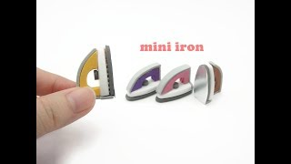 DIY Miniature Doll Mini Iron - Easy!