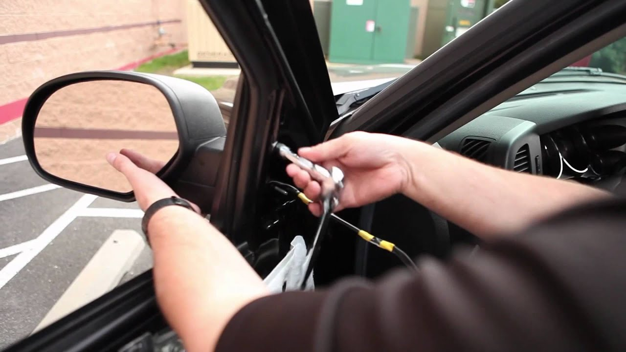 maxresdefault how to install towing mirrors video pep boys youtube 4 Prong Trailer Wiring Diagram at mifinder.co