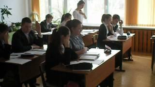 урок биологии (Ершова Серебряные Пруды) в рамках недели экологии и биологии учителей Подмосковья