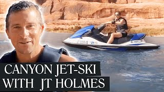 Bear Grylls TAMES the Colorado River with JT Holmes! | Bear &
