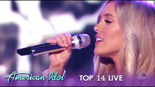 Laci Kaye Booth: Young Girls STUNNING Performance IS A Crowd Pleaser!   American Idol 2019