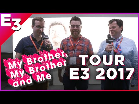 My Brother My Brother and Me: An E3 Chicken Tender Journey — Polygon @ E3 2017