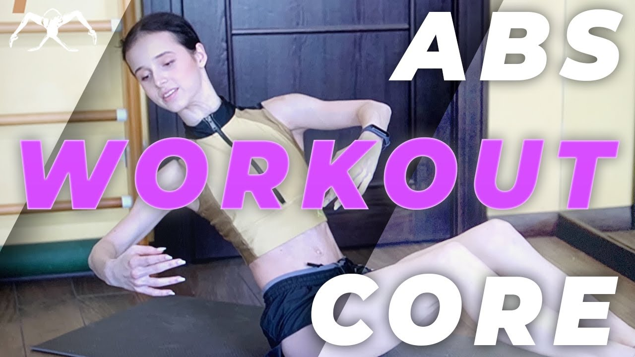 ABS workout / CORE workout at home in 2020 with Maria Khoreva (Mariinsky ballet)