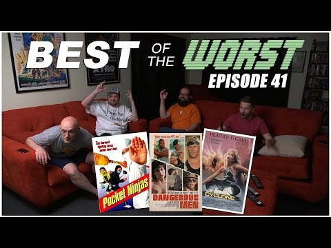 Best of the Worst Pocket Ninjas, Cyclone, and Dangerous Men