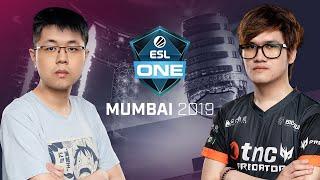 Team Team vs. TNC Predator - Game 1 - LB Ro4b #1 - ESL One Mumbai 2019