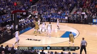 Notre Dame vs Kentucky: Pat Connaughton layup