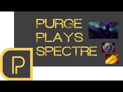 Dota 2 Purge plays Spectre