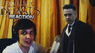 "Reaction | SDCC Трейлер ""Fantastic Beasts And Where To Find Theme"""