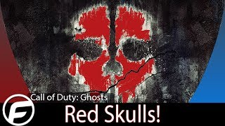 Call of Duty: Ghosts Red Skulls Pro Tip!