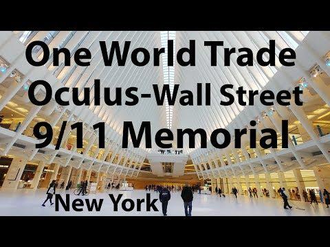 One World Trade, Oculus, 9/11 Memorial, Wall Street, Lower Manhattan, New York