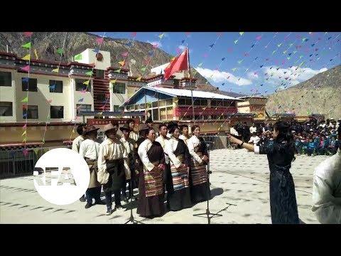 Tibetans Forced to Sing Songs Praising China's Communist Party | Radio Free Asia (RFA)