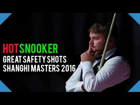 Great Safety Shots Shanghai Masters 2016 - HotSnooker
