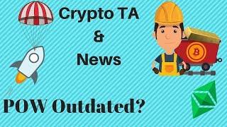 Cryptos Running Higher! Mining Inefficient? $124 Million Airdrop! ETC Positioning! ZEN Giveaway!