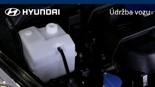 Kontrola chladici kapaliny | Hyundai