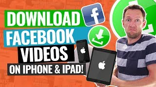 Download lagu How to Download Facebook Videos on iPhone & iPad!