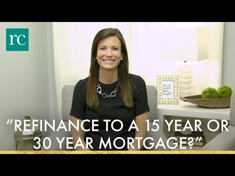 """Should I Refinance to a 15 Year or 30 Year Mortgage?"" #AskRachelCruze"