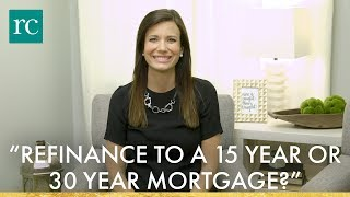 "Download Video ""Should I Refinance to a 15 Year or 30 Year Mortgage?"" #AskRachelCruze MP3 3GP MP4"