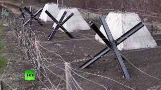 Украина продолжает строить стену на границе с РФ(, 2015-04-26T15:03:19.000Z)