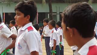 Civil Aviation School & College,Tejgaon Sports Day 2018  Boy's P.T. Display  Mohammad Rony
