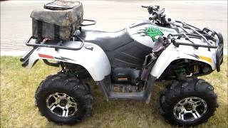 2008 Arctic Cat Thundercat Review and Acceleration
