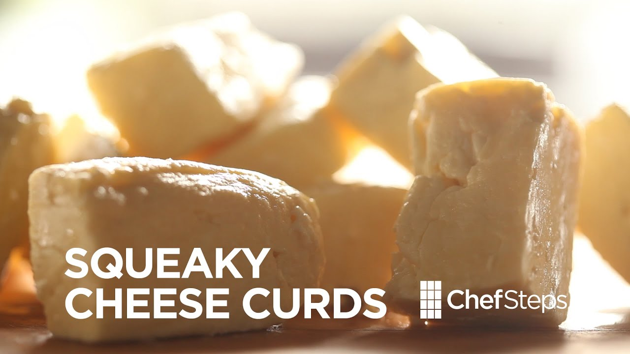 make cheese curds at home youtube