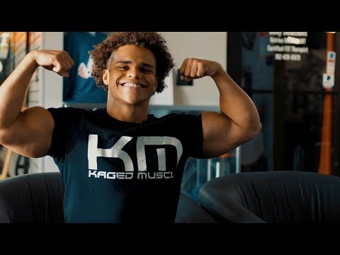 How I Take My Kaged Muscle Supplements With Uzoma Obilor