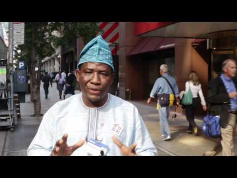 Ashoka at CGI: Nigeria Fellow Dr. Joseph Adelegan