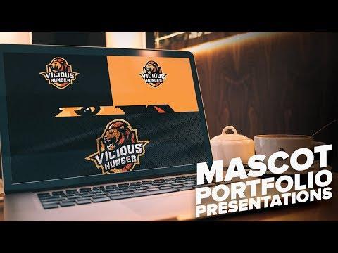 Mascot / Sporty Logo Portfolio Presentations! (Behance)