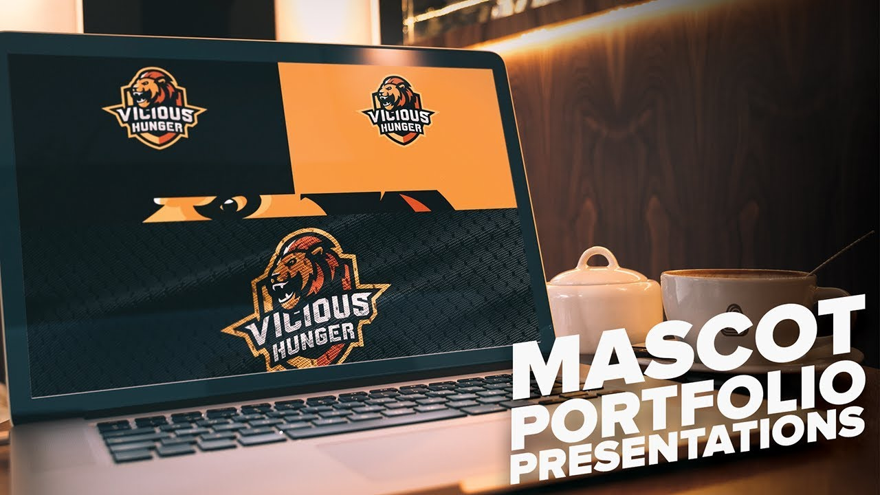 Mascot Sporty Logo Portfolio Presentations Behance