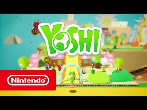 Yoshi (working title) - E3 2017 Trailer (Nintendo Switch)
