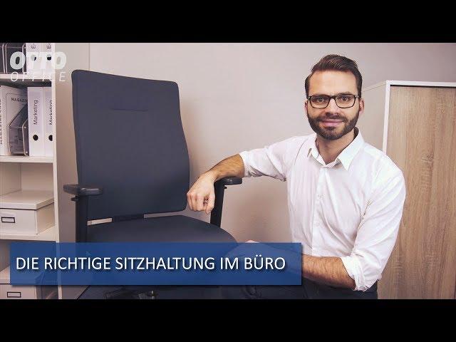 Tschüss Rückenschmerzen Die Richtige Sitzhaltung Am Arbeitsplatz
