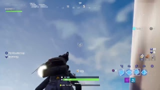 Fortnite livestream with viewers build battle