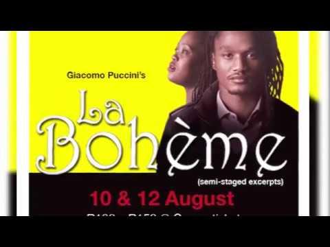 The Durban Playhouse Company Presents...La Boheme Promo -  August 2017   Social Media