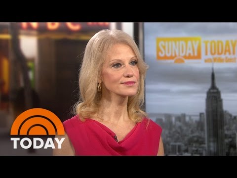 Kellyanne Conway Talks Hillary Clinton Emails, Poll Numbers, Donald Trump's Taxes | TODAY