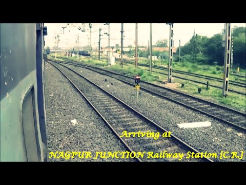 Indian Railways..Arriving at NAGPUR Junction Railway Station [Central Railway]!!