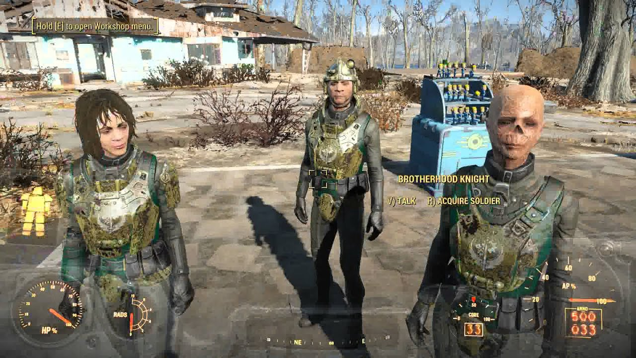 Build An Army Mod Fallout