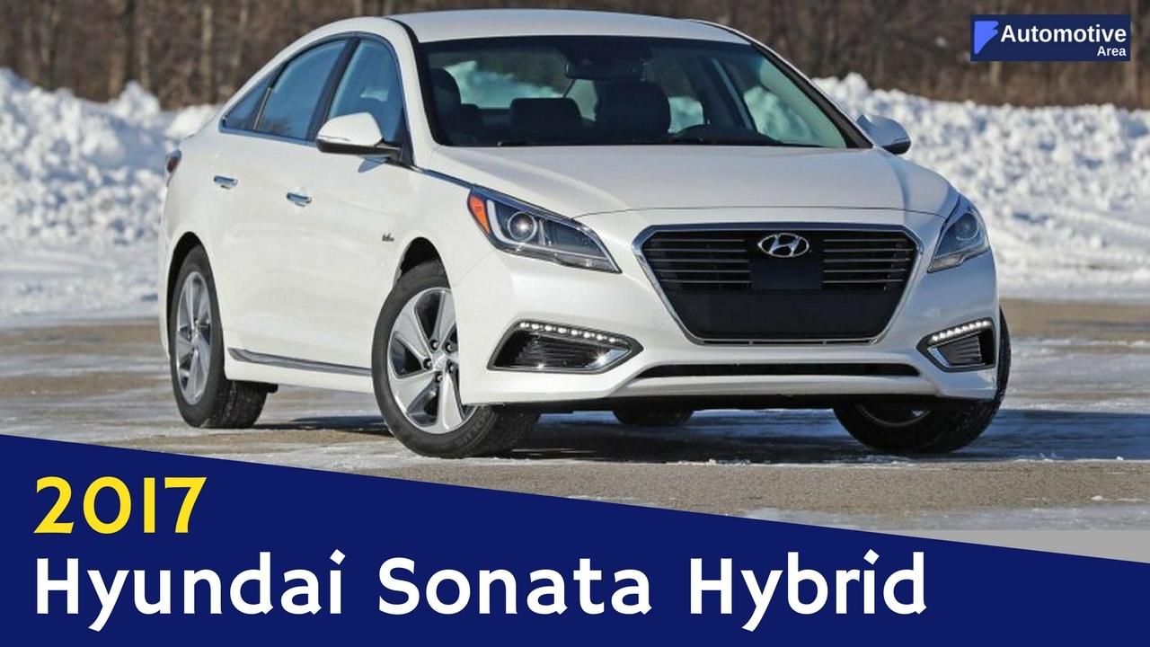 New 2017 Hyundai Sonata Plug In Hybrid Fuel Efficient Infotainment Exterior Interior