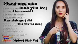 Nkauj Mog Mim Hlub Yim Leej by Nplooj Siab Vaj _ Karaoke