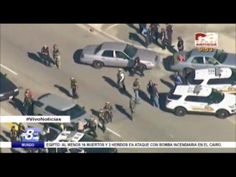 A las 8:45 Ataque terrorista en San Bernardino, California (Análisis)