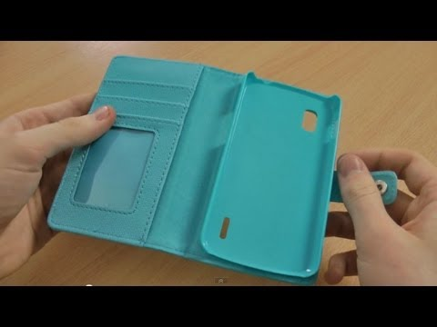 reputable site 560ae a5bbf Leather Style Nexus 4 Wallet Case Review