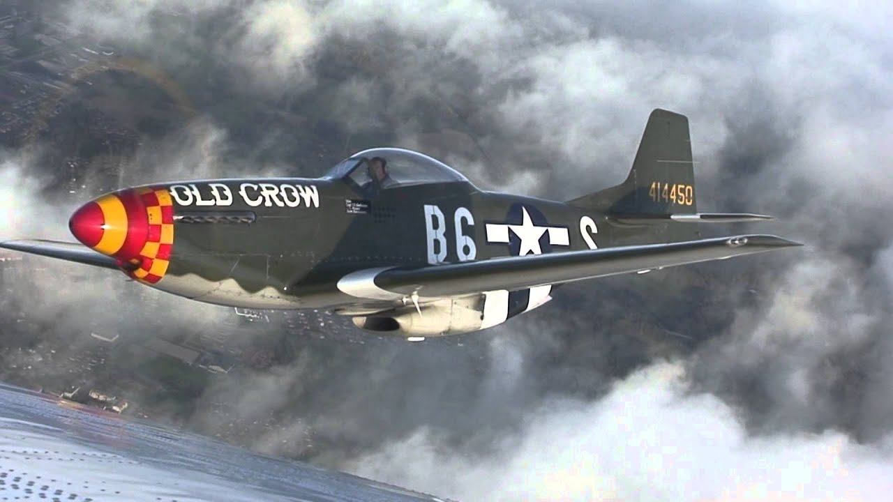 Old Crow North American P 51 Mustang Youtube