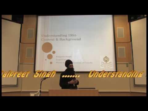 1984- Balpreet Singh