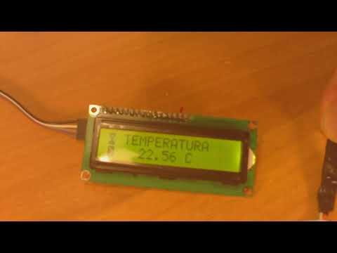 STM32F103C8T6 e DS18b20 con Lcd(IDE arduino) - mario progetti